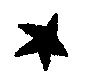 Hand-drawn image of a five-point star