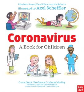 "Cover image for ""Coronavirus: A Book for Children"""